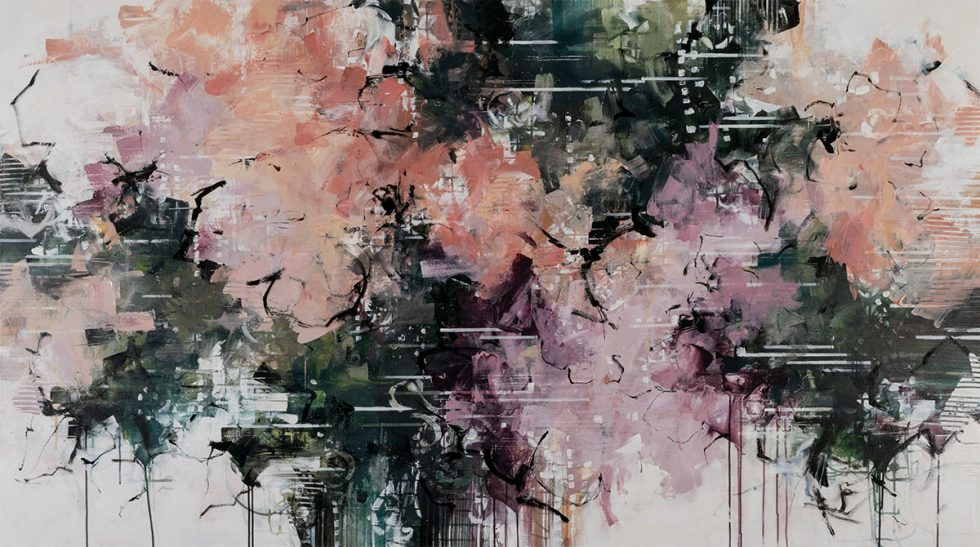 """ink and acrylic on canvas 46"""" x 82"""""""