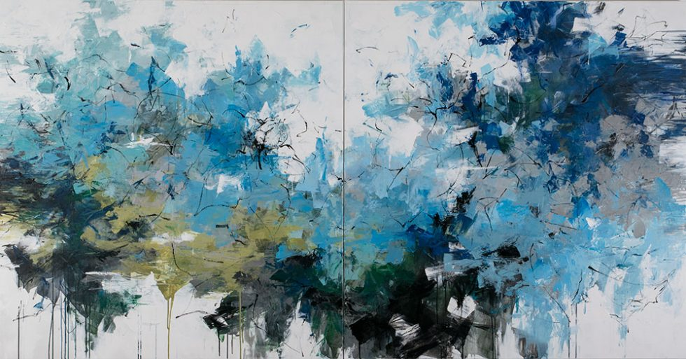 """ink and acrylic on canvas 50"""" x 96"""""""