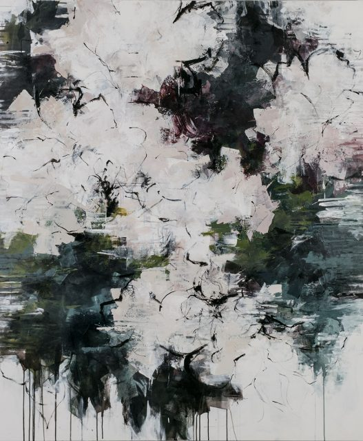 """ink and acrylic on canvas 72"""" x 60"""""""